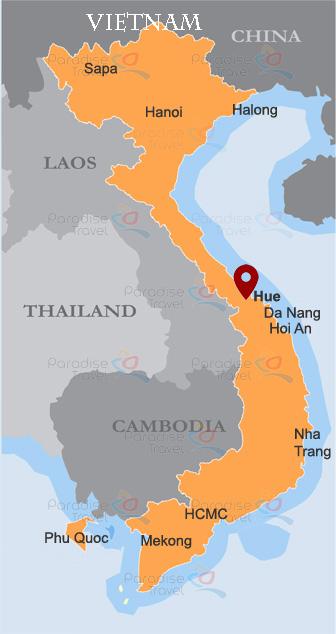 Hue Location Map