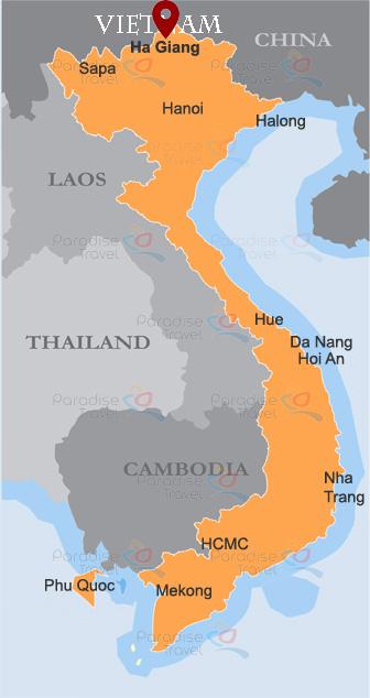 Ha Giang location map