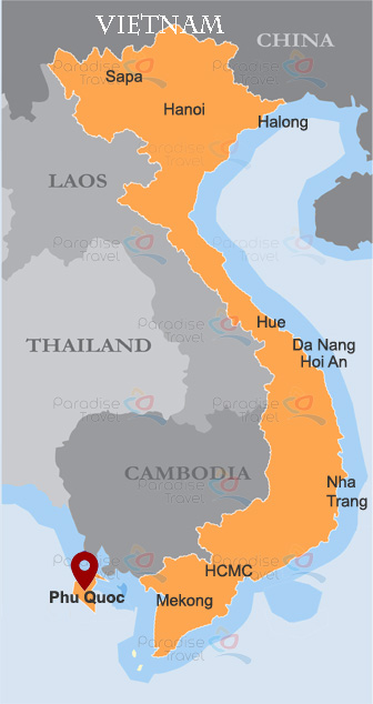 Phu Quoc Location Map