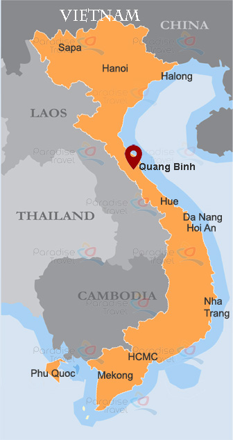 Quang Binh Location Map