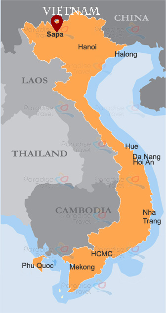 Sapa Location Map