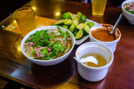 Pho - the most famous food in Hanoi