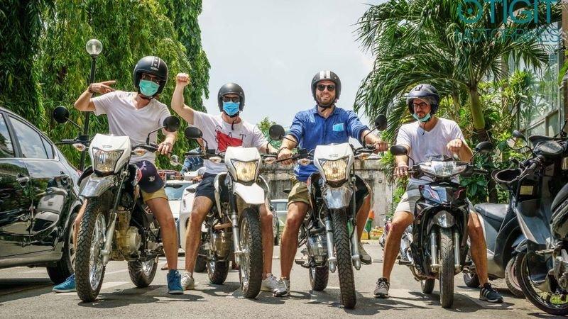 Southern Vietnam Motorbike Tour in 5 Days