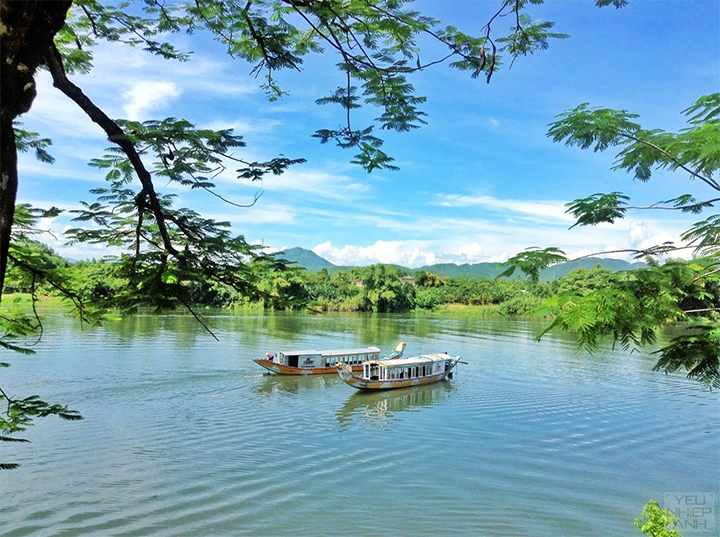 The Famous Huong River in Hue - 11 Days in Vietnam