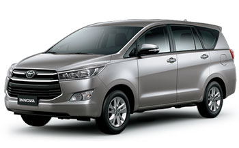 Toyota Innova for rent in Vietnam