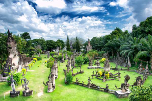 Vientiane's Buddha Park - Laos Travel Guide