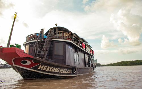 Mekong Melody-Mekong in close up-Upstream