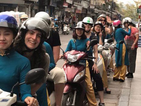 Hanoi motorbike tour: Private Shopping & Food tour - Vietnam Paradise Travel